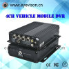 H. 264 номер канала в реальном масштабе времени четырехканального телефона автомобиля передвижного DVR SD тональнозвуковой автомобиль передвижное DVR записи 128g $ + номера 1d1 CIF $ в реальном масштабе времени
