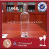 Qualitäts-Schraubverschluss- kundenspezifische Glasflasche für Wodka