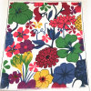 Tissu de drap de fleur de poids léger pour le textile à la maison