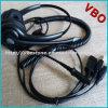 Le meilleur écouteur de vente d'ordinateur de connecteur du centre d'appels 3.5mm avec le bruit annulant le boum de MIC