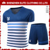 Het naar maat gemaakte Blauw van Jersey van de Voetbal van de Goede Kwaliteit Amerikaanse (eltsji-3)
