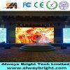 Pantalla de visualización de interior de LED de Abt Shenzhen P6 RGB para el alquiler