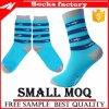 Mens способа нового цветастого хлопка высокого качества оптовой продажи большого части носок одевают смешной сделанный по образцу носок