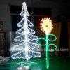一義的なホーム庭のクリスマスLEDの木ライト