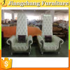 Living room Popular Luxury Silver Leather Wooden Jc-K1232 Flesh