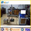 Máquina de la marca del laser de la fibra de las bandas transportadoras para la pluma