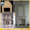 La pietra classica dell'ornamento del camino intagliata mano progetta