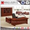 Античный роскошный твердый деревянный стол офиса Veneer (NS-SL003)