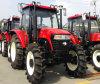 De nieuwe Chinese Tractor van het Ontwerp van 100 PK 4WD Nieuwe
