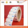 Alta calidad imprimió papel de vinilo adhesivo de código de barras de impresión de etiquetas engomada