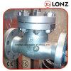 ANSI Vastgeboute Klep van de Controle van de Schommeling van de Bonnet Roestvrij staal Van een flens voorzien