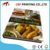 Impresión del libro del &Menu del atascamiento de libro del cocinero del Hardcover del colorante