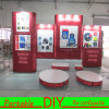 Soporte de visualización de la cabina de la exposición de la visualización DIY de la feria profesional