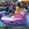 Barco abundante do parque temático elétrico com o jogador MP3 para crianças