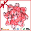 Weihnachtsbaum-dekorativer gedruckter Farbband-Geschenk-Bogen