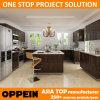 Oppein Wood Veneer Kitchen Cabinet com HPL Finish (OP15-HPL07)