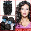 Trama profonda di estensione dei capelli umani dell'onda di qualità di lusso