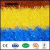 Esteira artificial sintética plástica colorida do tapete da grama
