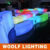 Color que cambia el asiento ligero de la barra de la curva del LED