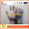 13 перчатки сада покрытия нитрила раковины датчика Nylon (DNN352)