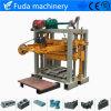 機械装置Qt40-2を作る小さい手動舗装の煉瓦