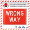 Materiale di rivestimento riflettente del grado di ingegneria per i segni di traffico stradale che guidano i segni