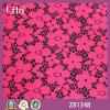 Tela pequena do laço da flor do jacquard de Lita