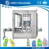 máquina de rellenar de pesaje líquida automática del detergente de lavadero 1-5L