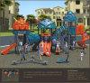 Детей холодного робота Kaiqi установленная спортивная площадка среднего размера опирающийся на определённую тему напольная (KQ50064A)