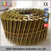 크기 2.3*50mm Screw Coil Nail Size 3.05X80 Ring Coil Nail