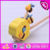 Baby、KidsのWooden Push Toy、Pretend Plat Wooden Push Toy、Pushing W05A014のためのWooden Toyのための2015新しいWooden Push Toy