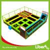 Liben ha usato la zona dell'interno quadrata del trampolino dei capretti
