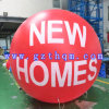 Farbiger Ballon, der Balloon/PVC Helium-Ballon bekanntmacht