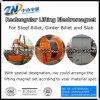 Прямоугольный поднимаясь магнит для стального заготовки, заготовки прогона и сляба MW22-210100L/1