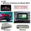 Surface adjacente androïde de navigation de véhicule pour Mazda Mx-5 ; Améliorer la navigation de contact, HD 1080P, carte de Google, le WiFi, BT, Mirrorlink, HD 1080P, carte de Google, jeu Stor
