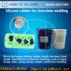 Moule de chocolat de catégorie comestible faisant le caoutchouc de silicone liquide