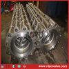Tipo duplo válvula do talão do balanço da placa do aço inoxidável de verificação