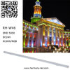 10W RVB changent l'exposition de barre du DJ de lumière d'étape de LED