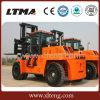 Carretilla elevadora del diesel de la carretilla elevadora 20t de la potencia grande del material de construcción de Ltma