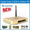 Support Xbmc de cadre d'Andriod 4.4 TV de noyau de quarte d'Amlogic S802