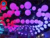 Grande plástico ao ar livre impermeável recarregável esfera clara iluminada do diodo emissor de luz