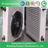 Sistema di riscaldamento elettrico della serra con il ventilatore del riscaldamento