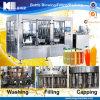Máquina de rellenar del jugo automático de la botella de cristal (RCGF-XFH)
