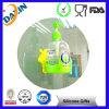 Tasse adhésive forte non-toxique colorée d'aspiration de silicone