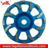 Tornade Diamond Cup Wheels avec Segments pour Concrete Floor Polishing