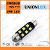 COB 3W 300lm C5W 3535 LED del adorno con No Polaruty