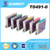 Cumbre Color Ink Cartridge Compatible para Epson T0491