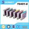 De Patroon van de Inkt van de Kleur van de top Compatibel voor Epson T0491