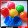 Boules vides en plastique pleines multi de capsule des couleurs 38mm