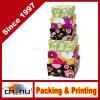Pondoirs floraux, nichés 6 boîtes de cadeau assorties de papier cartonné, plus grande boîte 5-0.25 pouces, pouce de la plus petite case 3-0.5 (110338)